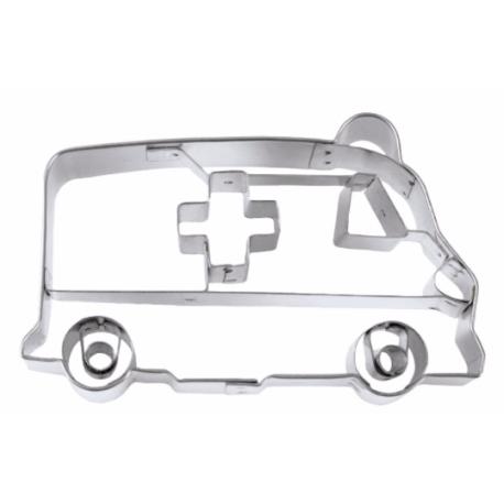 Cookie Cutter Ambulance, 8 cm