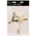 Decoration Happy New Year carton doré