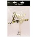 Decoration Happy New Year carton doré