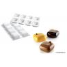 Silikomart - Moule en silicone Gem 100, 8 cavités