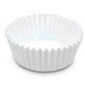 Mini white Baking Cases, 200 pieces
