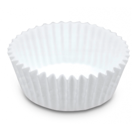 Mini white Baking Cases, 200 pieces