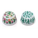 Cupcake Backförmchen Kaktus, 36 Stück