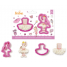 Decora - Cookie Cutter ballerina, set of 2
