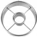 Staedter - Doughnut (donut) & biscuit ring cutter, stainless steel
