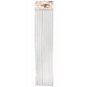 PME - bâtons en plastique 40 x 1 cm, 8 pièces
