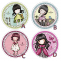 Wafer disc Gorjuss Girls, 21 cm