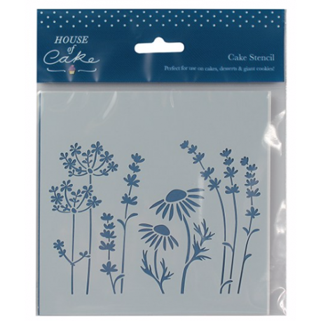 House of Cake - Meadow stencil