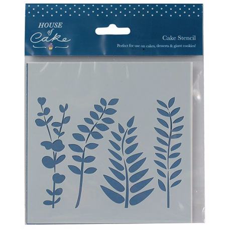 House of Cake - Foliage stencil