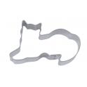 Emporte-pièce - chat couché, 6 cm