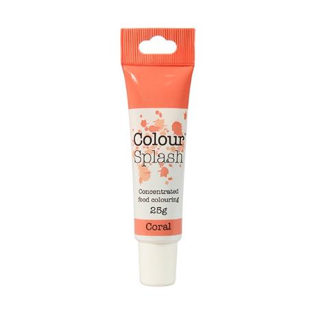 Colour splash colorant concentré corail, 25 g