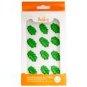 Decora Décorations en sucre feuilles vertes, 12 pièces