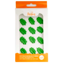 Decora Sugar decoration green leaves, 12 pieces