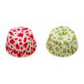 Caissettes à cupcakes fleur aquarelle, 36 pièces
