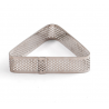 Decora - Tart shape perforated triangle, 16 x 14 x 2 H CM
