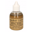 Sugarflair - Airbrush royal gold, 60 ml