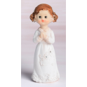 Communion girl topper from Modecor, 10 cm