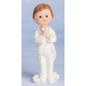 Communion boy topper from Modecor, 10 cm