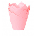 Tulip Muffin Case baby pink, 36 pieces