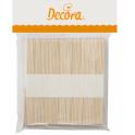 Decora - Bâtonnets à glace en bois, standard, 114 mm, 100 pièces
