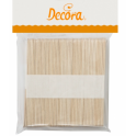 Decora - Wood sticks, 114 mm, 100 pieces