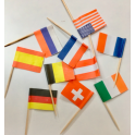 Countires Flag Pic, 10 pieces