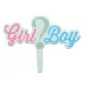 "Culpitt décoration ""Girl ? Boy"", 1 pièce"