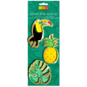 Cookie cutter tropical set, 3 pieces