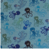 Melifil - Timeless Treasures - Octopus surf