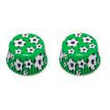 Caissettes à cupcakes football, 36 pièces