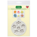 Katy Sue -  Silicon mould small flowers