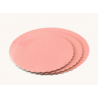 Baby pink Corrugated board, 25 cm