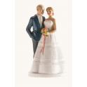 Figurine mariés Prague