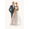 Dekora - Wedding cake topper couple Prague