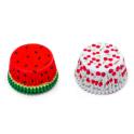 Caissettes à cupcakes fruits d'été, 36 pièces