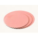 Baby pink Corrugated board, 20 cm