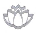 Cookie cutter lotus flower, 6 cm
