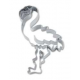 Cookie cutter Flamingo (detailed), 7 cm