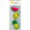 Wilton - Emporte-pièce fruits, 3 pièces