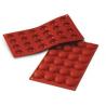 Silikomart - Pomponette silicone mold, 3.4 cm