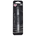 RD - Double sided Food Pen Silver Grey