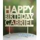 Custom Birthday topper
