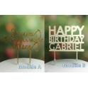 Maßgeschneidert Geburtstag Kuchen Topper