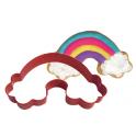 Cookie Cutter Rainbow, 12 cm