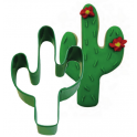 Cookie Cutter Green Cactus, 10 cm