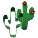 Cookie Cutter Green Cactus, 10 cm