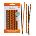 Decora - Paper Straw mixed Halloween, 80 pieces