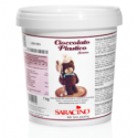 Saracino Plastic chocolate - dark 1kg