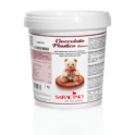 Saracino Chocolat plastique - Blanc, 1 kg