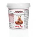 Saracino Plastic chocolate - White 1kg